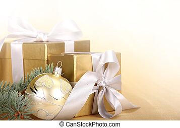 贈り物, ボール, クリスマス