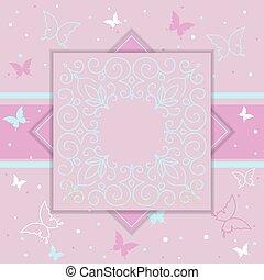 贈り物, 招待, 優雅である, 贅沢, テンプレート, カード