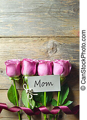 贈り物, 花, 日, 母