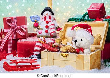 贈り物, 荷を解くこと
