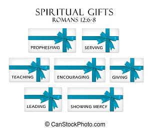 贈り物, 霊歌