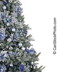贈り物, 飾られる, 木, クリスマス