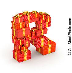 贈り物, r, 手紙