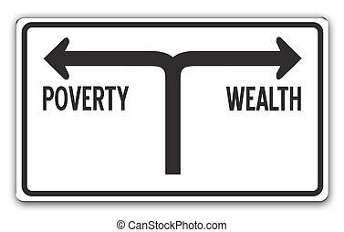 贫穷, 财富, &