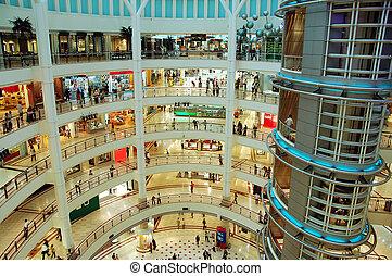 购物商业区
