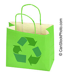 购物袋, 带, 再循环符号