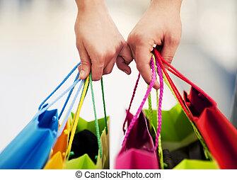 购物, 一起
