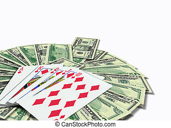 赌博, 扑克牌