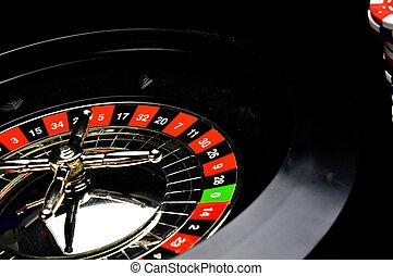 赌博, 游戏, 轮盘赌, 娱乐场