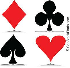 赌博, 矢量, 描述