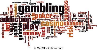 赌博, 词汇, 云