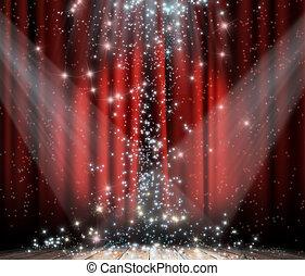 赤いカーテン, ∥で∥, 星