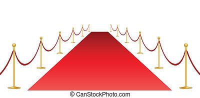 赤いカーペット, そして, stantion