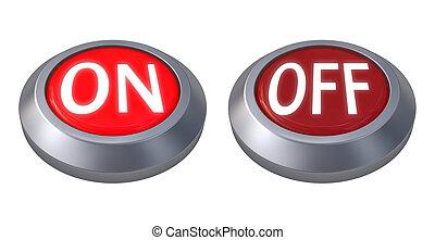 赤いボタン, 隔離された
