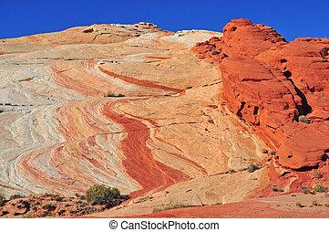 赤い岩, 風景, アメリカ, 南西
