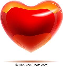 赤い心臓, グロッシー