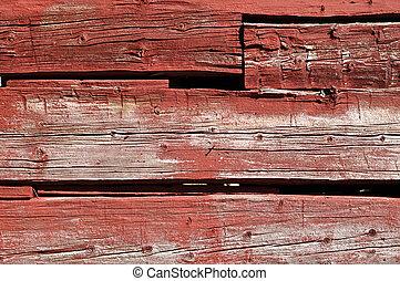 赤い木質, 背景