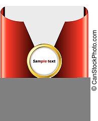 赤い矢印, パンフレット, デザイン