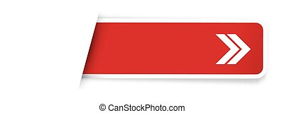 赤い矢印, ラベル