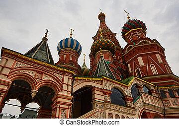 ∥, 赤の広場, 中に, モスクワ