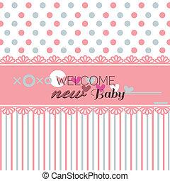 赤ん坊, かわいい, 歓迎, シャワー