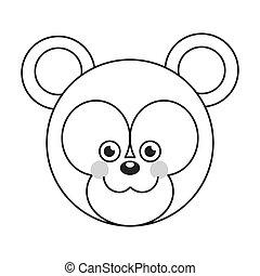 赤ん坊, かわいい, 漫画, 熊
