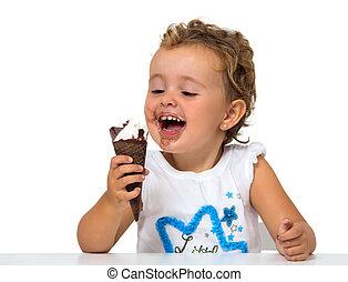 ∥赤ん坊∥, アイスクリーム