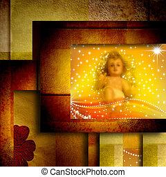赤ん坊, クリスマスカード, イエス・キリスト