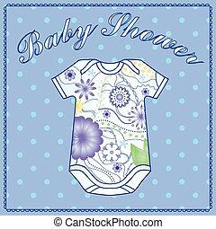赤ん坊 シャワー, ∥で∥, 体, 衣類