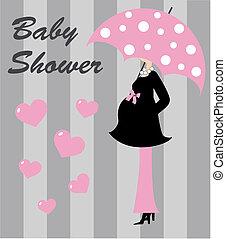 赤ん坊 シャワー