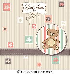 赤ん坊 シャワー, ロマンチック, カード