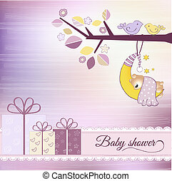 赤ん坊 シャワー, 発表