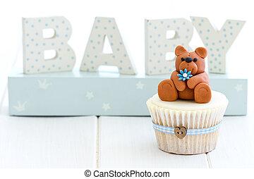 赤ん坊 シャワー, cupcake