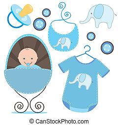 赤ん坊, スクラップブック, シャワー