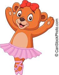 赤ん坊, バレエ・ダンサー, 漫画, 熊