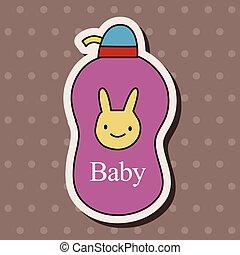 赤ん坊, 主題, 要素, シャンプー