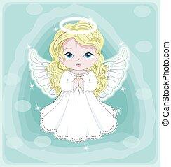 赤ん坊, 天使, クリスマス