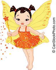 赤ん坊, 妖精, アジア人, かわいい