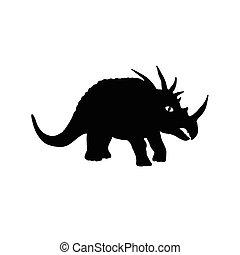 赤ん坊, 恐竜, ベクトル