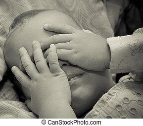 赤ん坊, 悲しい