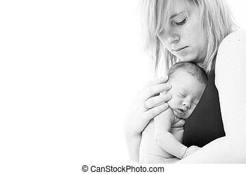 赤ん坊, 愛, 母