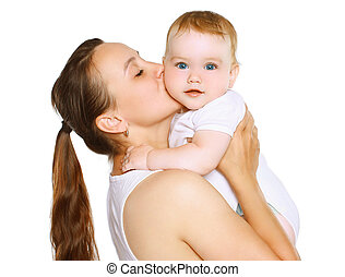赤ん坊, 接吻, お母さん