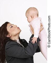 赤ん坊, 接吻