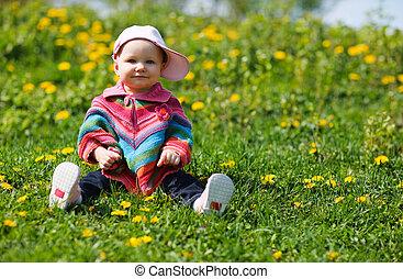 赤ん坊, 春