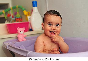 赤ん坊, 概念, -, 写真