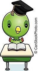 赤ん坊, 漫画, オウム, 学生