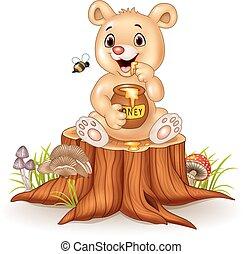 赤ん坊, 漫画, 面白い, 熊