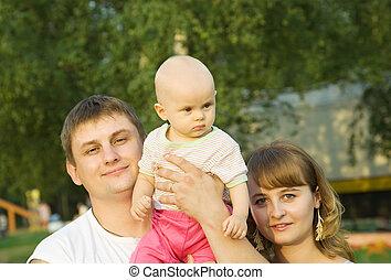 赤ん坊, 父, 母