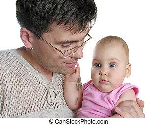 赤ん坊, 父, 隔離された