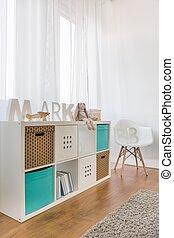 赤ん坊, 現代家具